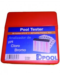 Kit analizador de pastillas...